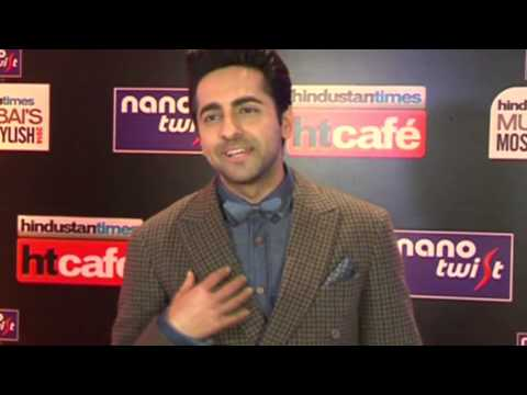 Ayushmann Khurrana at Hindustan Times Mumbai Most Stylish Awards 2014
