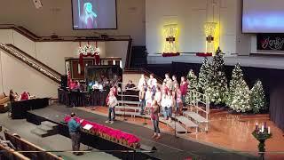 "Rachel, Sam, and Elevate student choir - ""Help from Heaven"""