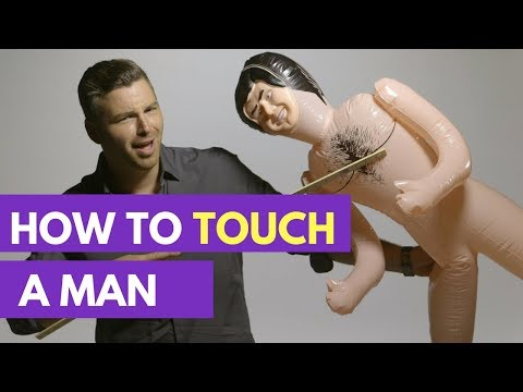 The RIGHT Way to Touch a Guy to Show Interest in Him | Dating Advice For Women thumbnail