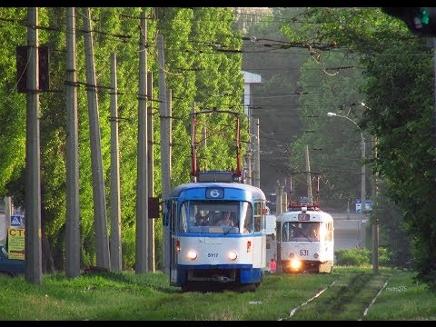 Трамваи Харькова - Trams of Kharkov