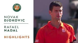 Novak Djokovic v Rafael Nadal Highlights - Men