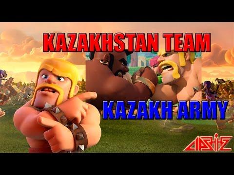 Kazakhstan Team vs Kazakh Army