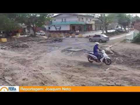 Avenida Tupinambá, na Mangabeira, recebe obras de intervenção