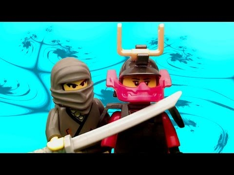 Want new & old LEGO reviews, stop motions, customs, LEGO news & more every day?!? Just click SUBSCRIBE! http://goo.gl/6kI78 A battle ensues in the Lego Ninja...
