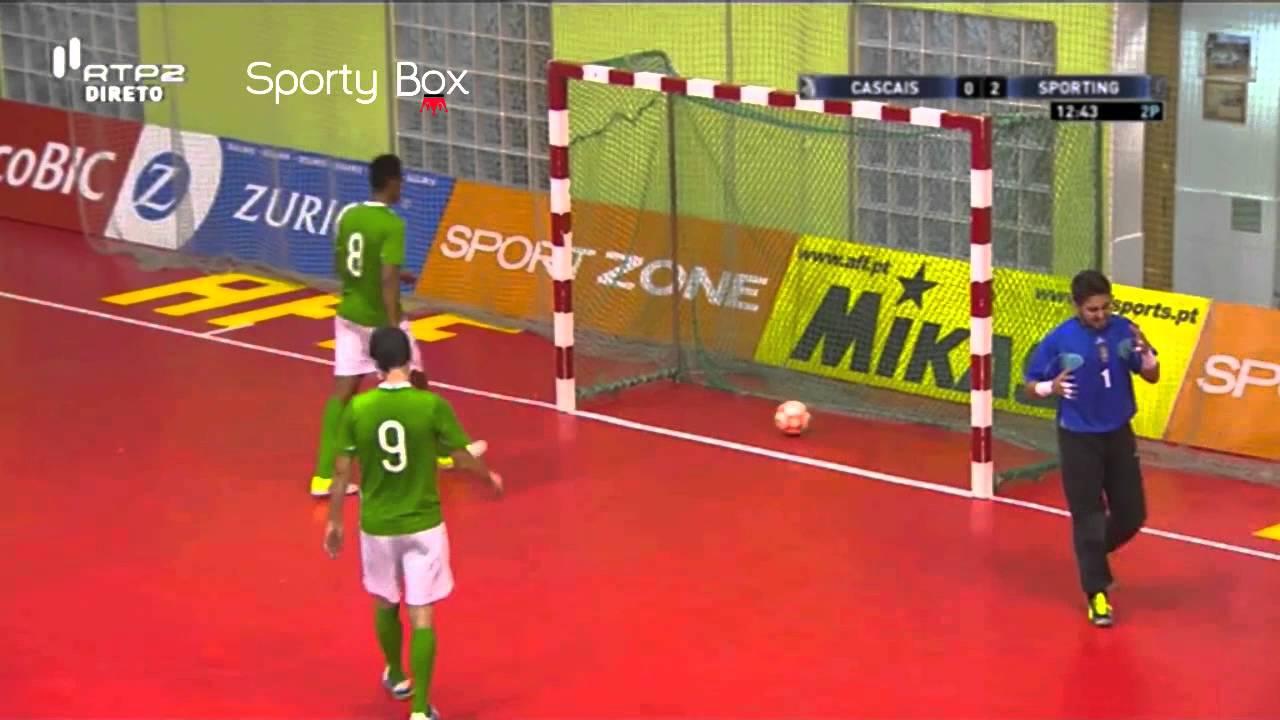 Futsal :: 08J :: Cascais - 1 x Sporting - 3 de 2014/2015