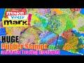 How to: Huge Rubber Stamps & Artist Trading Envelopes