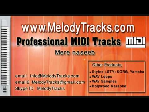 Mere Naseeb Mein Tu Hai Ke Nahi Midi - Www.melodytracks video