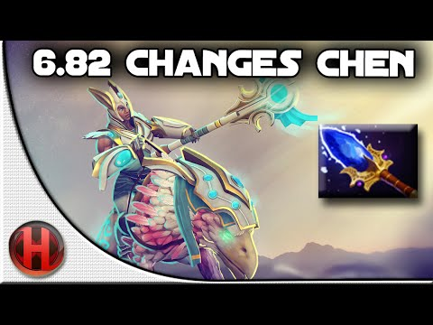 6.82 Changes Dota 2 - Chen Aghanim's Scepter Update