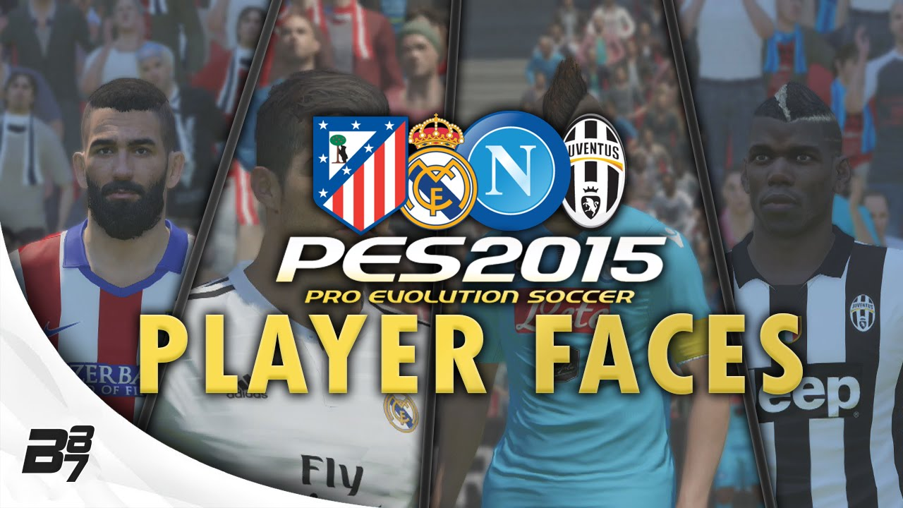 Real Madrid Players Numbers 2015 Pes 2015 Player Faces Real