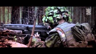 Finske hær øver + viser deres grej