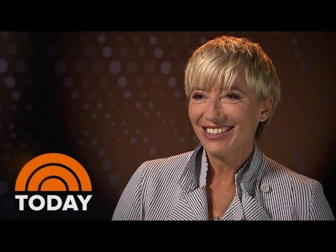 Emma Thompson On 'A Walk in the Woods,' Trump's Presidential Run | TODAY