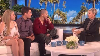 Florida School Shooting Survivors Give Emotional Account of Tragedy on the Ellen Show