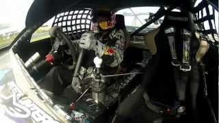 Mad Mike RX7 Qualifying Lap - Raw Onboard - D1NZ Grand Final, Hampton Downs 2012