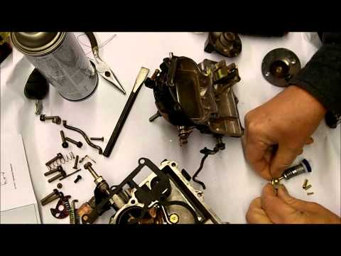 Mercarb Marine Carburetor Rebuild - Part 2 of 2