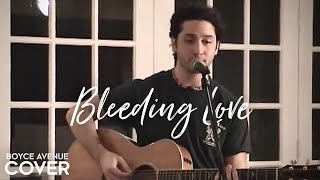 Watch Boyce Avenue Bleeding Love video