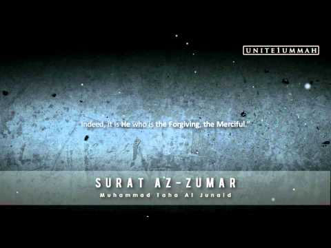 Muhammad Taha Junaid | Surat Az-zumar | 39:42-75 | Beautiful Recitation video