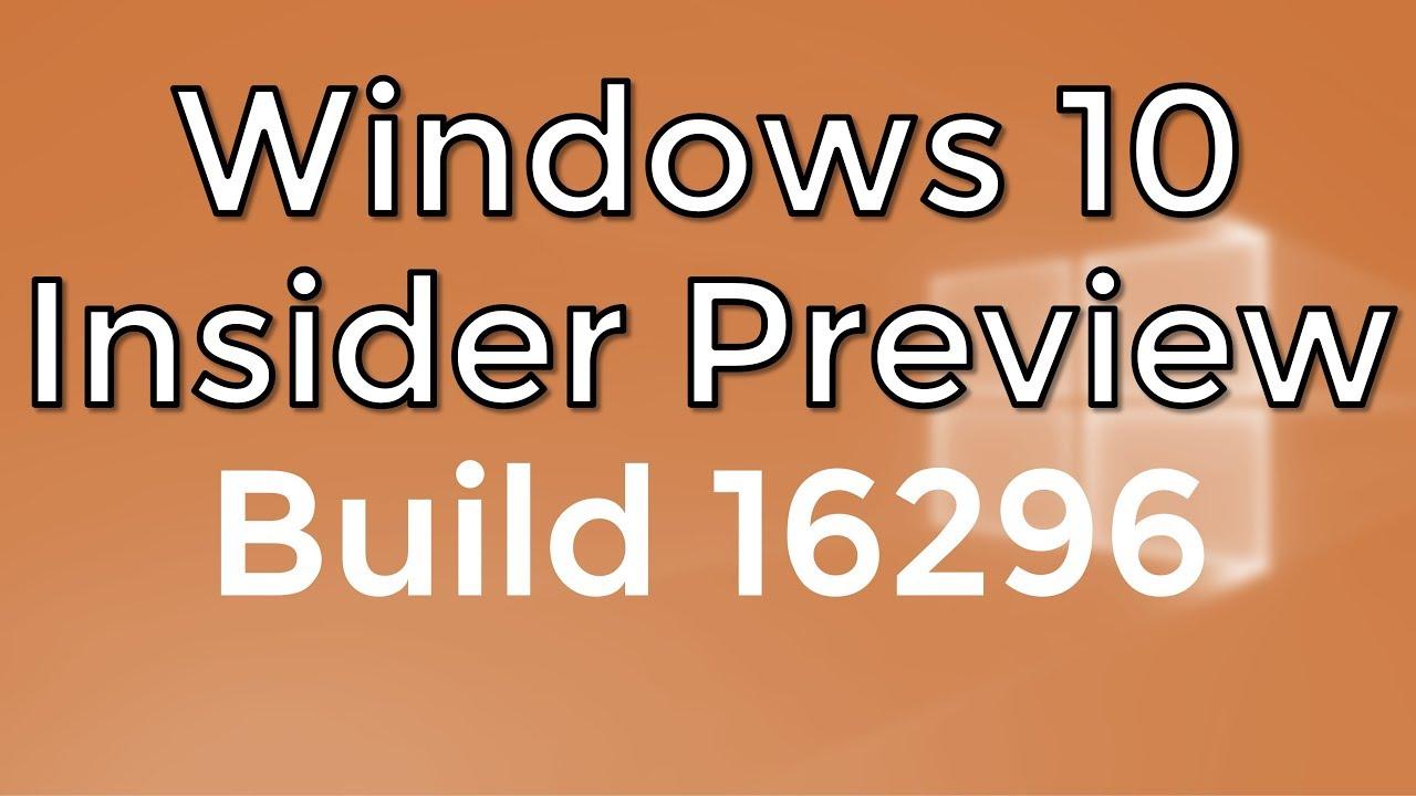 Insider preview builds herunterladen