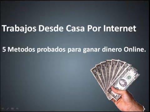 Trabajos desde casa por internet 5 metodos para ganar - Trabajos faciles desde casa ...