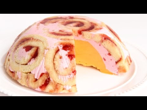 Jelly Roll Ice Cream Bombe Recipe - Laura Vitale - Laura in the Kitchen Episode 790