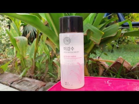 The face shop rice water bright makeup remover for eyes & lips review | makeup remover for winters |