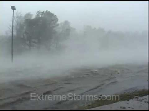 Hurricane Winds Hurricane Katrina Full on Wind
