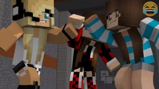 "Minecraft Songs ""Superheros Parts 1 - 4"" ♫  Minecraft Songs and Minecraft Animation"