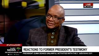 Sipho Pityana reacts to Zuma's claims at State Capture