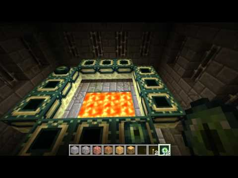Minecraft: How to get to an Ender portal and a visit to