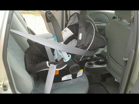 Tutorial: Maxi Cosi Einbau - Kindersitz Anschnallen - Babyschale Im Auto Befestigen