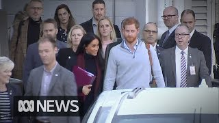 Prince Harry and Meghan touch down in Sydney for Invictus Games | ABC News