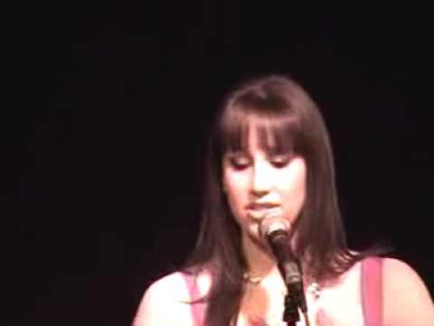 Natalie Weiss sings Watch Me Soar Written by Scott Alan -  Live at Birdland - 12/7/09