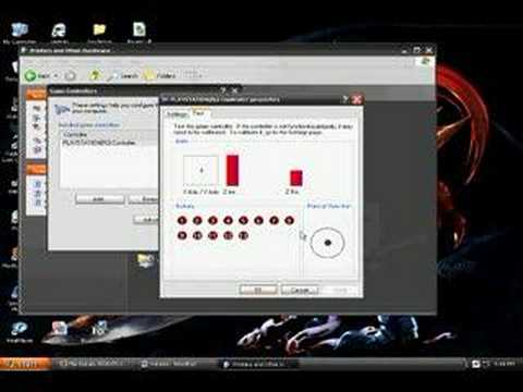 How to use ps3 controller on pc (XP 32BIT)