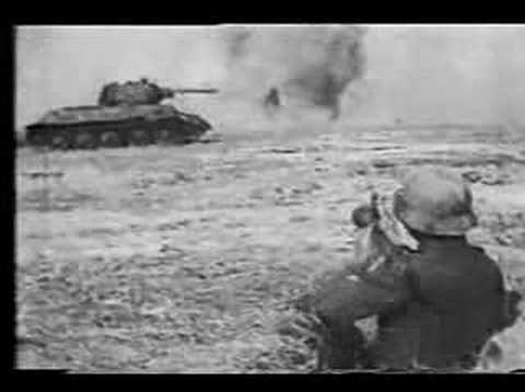 WWII german anti-tank tactics
