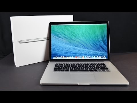 Apple MacBook Pro 15-inch with Retina Display (Late 2013): Unboxing. Demo. & Benchmarks