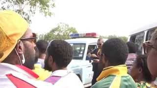 PNG PROTESTS - Police