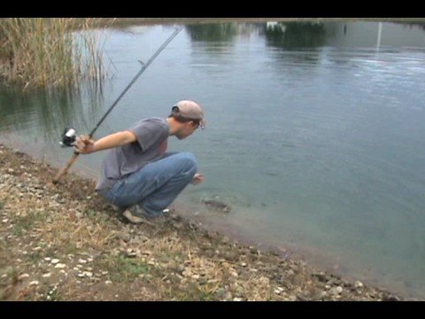 Fishing and fun with jfick early fall pond bass trip ohio for Pond bass fishing tips