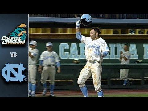 North Carolina vs. Coastal Carolina Baseball Highlights (April 19, 2016)