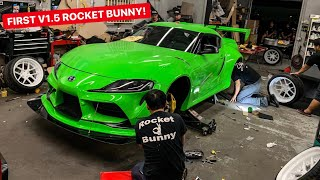 FIRST V1.5 WIDEBODY 2020 TOYOTA SUPRA ROCKET BUNNY KIT!