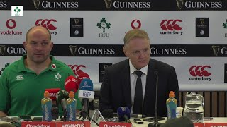 Irish Rugby TV: Ireland v England Post Match Press Conference