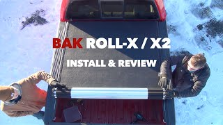 Bak Roll-X / X2 Rolling Hard Tonneau Cover Install and Review