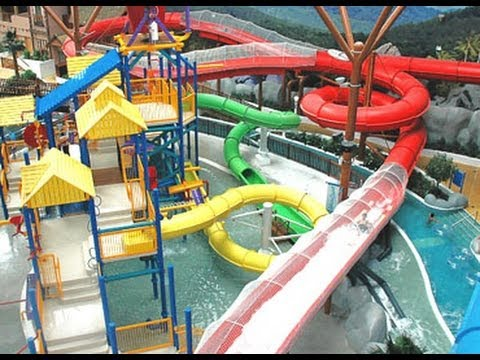 Bahrain Wahoo Water Park Seef Area City Center Shopping Mall Youtube
