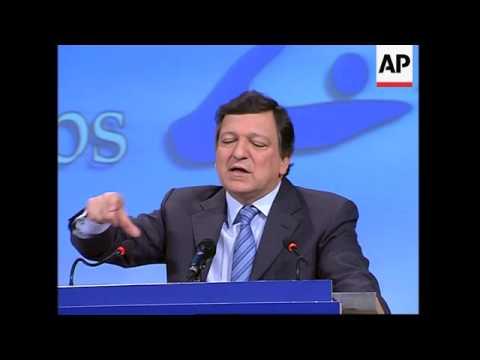 Barroso on Russia's energy partnership with EU