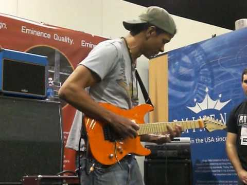 Greg Howe NAMM video #2