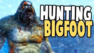 FINDING BIGFOOT! TRACKING THE MONSTER! - Far Cry 5 Bigfoot Gameplay