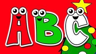 """Christmas ABCs"" - Busy Beavers at Christmas Time, Kids Alphabet Nursery Song"