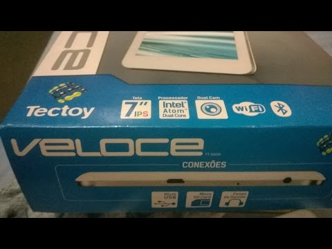 tablet tectoy veloce tt 5000i unboxing (analise de usuario)