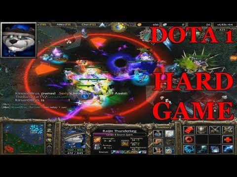 DOTA 1 - STORM SPIRIT HARD GAME WITH PRO PLAYERS (13k)