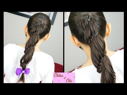 Trenza en Espiral / Carrusel - Spiral / Carousel Braid   Chikas Chic