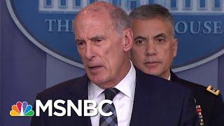 Amid Omarosa Chaos, President Trump Pulls John Brennan's Security Clearance | The 11th Hour | MSNBC