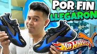 Llegaron a Mexico Los Tenis PUMA RSX Hot Wheels - Sneakers Hot Wheels